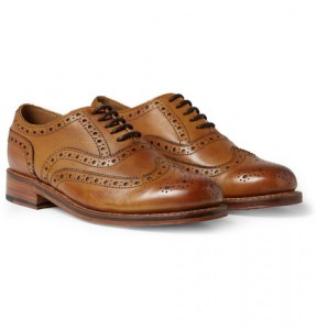 Grenson brogues (Mr Porter)